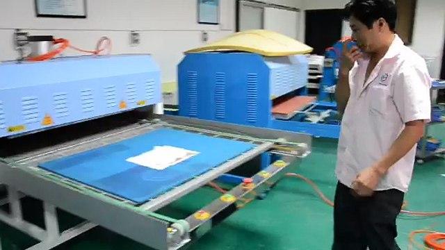 China Large Format Heat Transfer Printing Sublimation Machine , T Shirt Heat Press Machine Equipments Sales
