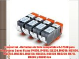 Premier Ink - Cartuchos de tinta compatibles C-525BK para impresoras Canon Pixma iP4850 iP4950