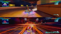 PS3 Cars 2 The Video Game - Wingo Blows Francesco Away in Satelite Quake Race!