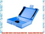 Neon HDD-CASE-3-BLU funda HDD/SSD - fundas HDD/SSD (Azul)