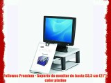 Fellowes Premium - Soporte de monitor de hasta 533 cm (21) color platino