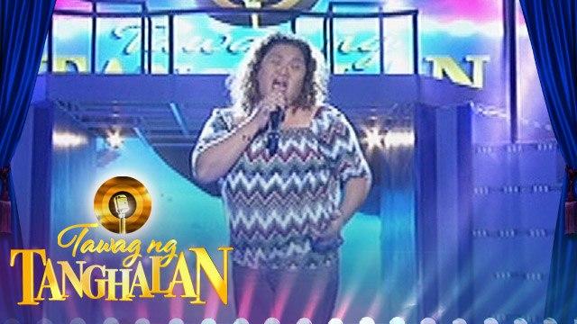"""Tawag ng Tanghalan: Amor Martin - """"You Don't Have To Say You Love Me"""""""