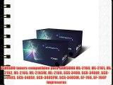 2xNEGRO toners compatibles para SAMSUNG ML-2160 ML-2161 ML-2162 ML-2165 ML-2165W ML-2168 SCX-3400