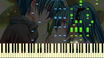 Ievan Polkka Piano Version | Leek Spin Song | Synthesia W/MIDI