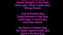 Duran Duran – Perfect Day Lyrics