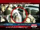 Lyari gang war leader Uzair Baloch presented before court