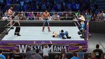 WWE 2K15 WWE vs TNA Impact Wrestling 2015