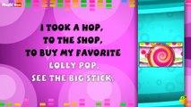 Lolly Pop Karaoke Version With Lyrics Cartoon/Animated English Nursery Rhymes For Kids