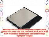 Opticaddy? SATA-3 HDD/SSD Caddy Adaptador para Lenovo Thinkpad T420 T430 T510 T520 T530 W510