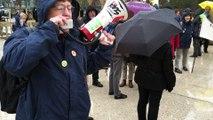 Nancy :  la confédération paysanne mobilisée contre les expulsions à Notre-Dame-des-Landes