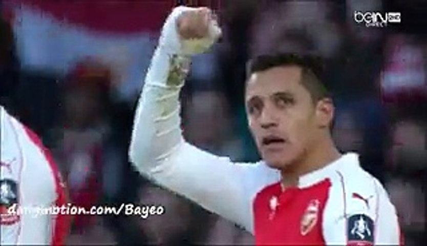 Alexis Sánchez Fantastic Goal HD - Arsenal 2-1 Burnley - 30-01-2016 FA Cup