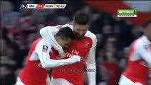 Alexis Sanchez GOAL | Arsenal 2-1 Burnley