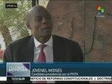 Haití: candidato oficialista se mantendrá en la contienda electoral
