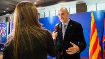 Jordi Moix explica el projecte guanyador del Nou Palau Blaugrana