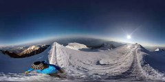 Mont Blanc Street View - 360 Video of the Mont Blanc Summit
