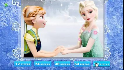 Frozen Disney Anna Elsa Frozens Princess of Arendelle videos Games puzzle for Kids 2