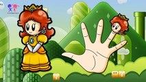 Daddy Finger Super Mario Cartoon ◉ Finger Family ◉ Fun Animation Nursery Rhymes & Songs fo