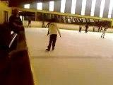 léssait  du 360 a la patinoir un débutant