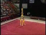 Sport gymnastique truc de ouf