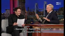 James Franco al David Letterman 14 10 2013 (sub ita)