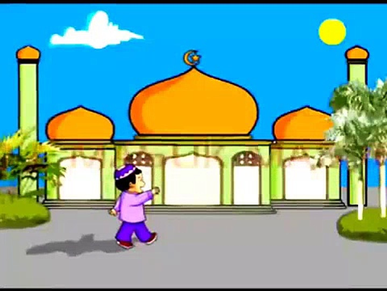 Kartun Anak Islam Doa Masuk Dan Keluar Masjid Gadis Imut2016