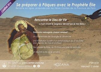 Carême 2016 : Retraite en ligne avec le prophète Elie