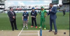 Pakistan won the toss and selected to Bat first in the last ODI against NewZealand