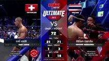 Sami LAMIRI vs Sirichok MISAKAWAN MAX MUAY THAI 27.12.2015 Pattaya THAILAND 1