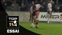 TOP 14 - Agen - Grenoble : 27-33 Essai Nigel HUNT (GRE) - J14 - Saison 2015/2016