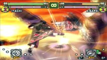 Naruto Ultimate Ninja 2 : Itachi VS Kisame , Naruto VS Jiraiya - Concentrate ! RASENGAN !!