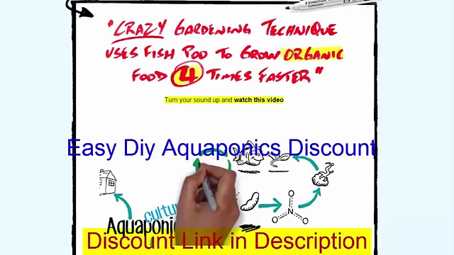 Easy Diy Aquaponics Discount, Coupon Code, Get $10 Off