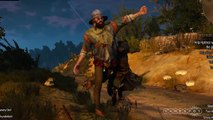 Finishing Moves DLC Gameplay - The Witcher 3_ Wild Hunt