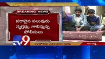 Red Sanders worth 40 lakhs seized in Tirumala