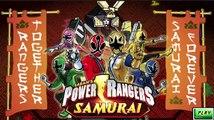 Power Rangers Samurai: Rangers Together Samurai forever
