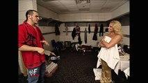 Trish Stratus, Matt Hardy and Lita Backstage Segment