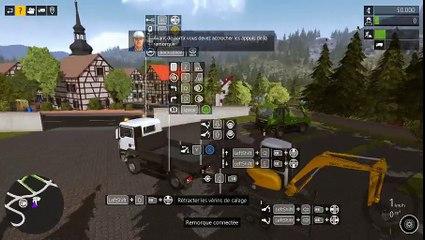 Construction simulator #1 Notre premier chantier