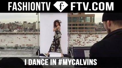 I Dance In #MyCalvins! New CK Campaign | FTV.com