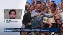 L'actualité de la semaine en Argentine et en Grande-Bretagne