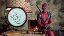 Deadpool sensibilise au cancer des testicules