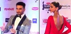 Ranveer Singh entering in Filmfare Awards 2019 - video