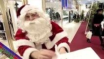 Santa Christmas Prank -- Santa demands payment for christmas gifts