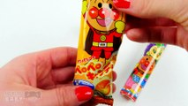 Openning Anpanman and Others Japanese Candy