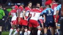 Rugby - Après 35 secondes, le derby entre Bayonne et Biarritz tourne à la bagarre générale