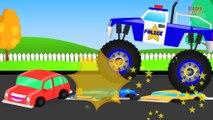 Monster Truck Stunt - Monster Truck Videos For Kids - Monster Trucks For Children