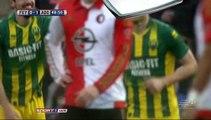 All Goals Holland  Eredivisie - 31.01.2016, Feyenoord 0-2 ADO Den Haag