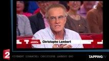Vivement Dimanche : Christophe Lambert ému et touché par ses retrouvailles avec Michel Bouquet (vidéo)