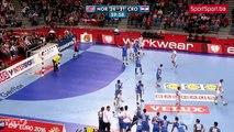Veliko slavlje hrvatski rukometasa nakon osvojene bronce na Evropskom prvenstvu