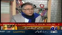 Hassan Nisar Telling Why He Taunted Ayesha Baksh on Her Question About Army Chief Extension