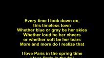 Ella Fitzgerald – I Love Paris Lyrics