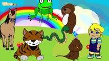 Las canciones de los animales The Sounds of the Animals Bilingual Mix Yleekids